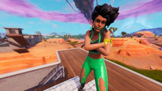 The latest Fortnite skin asks 'what if 7UP was a person?'