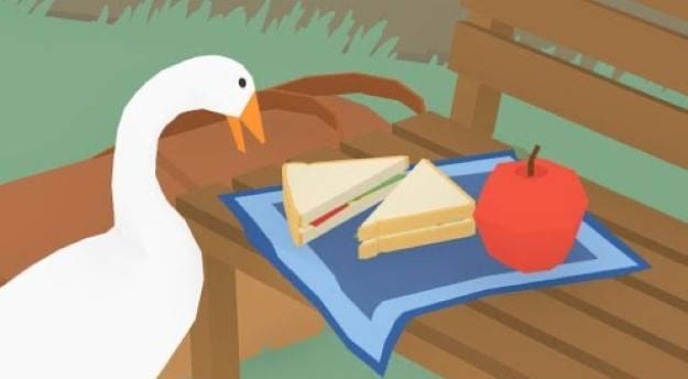 Enjoy some asshole goose behavior in the launch trailer for Untitled Goose Game