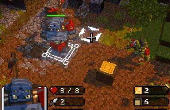 Here's what Minecraft would look like as an RTS