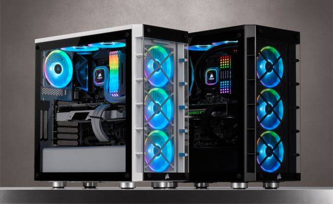 Corsair releases a 'smart' mid-tower case with three included RGB fans for $149