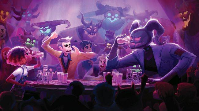 Afterparty, the next game from Oxenfree's developers, will be out in October