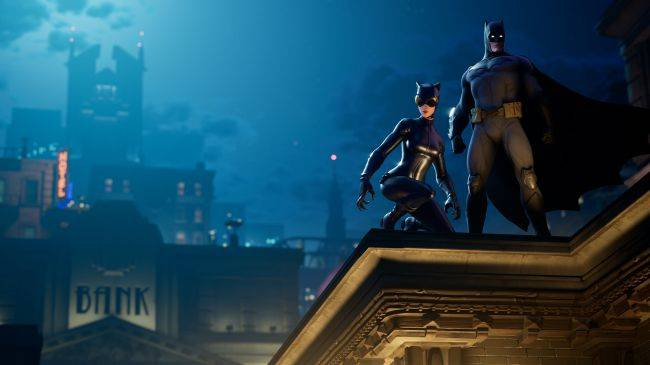 The Fortnite Batman crossover is live
