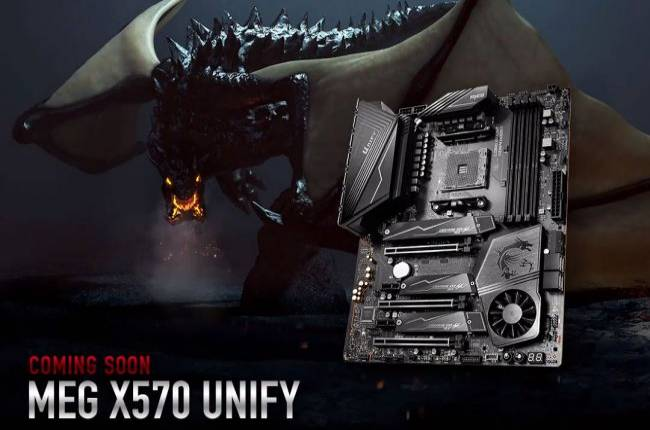 MSI is readying an all-black X570 motherboard for builders tired of RGB