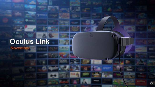 You will soon be able to plug an Oculus Quest headset into a PC to play Rift games