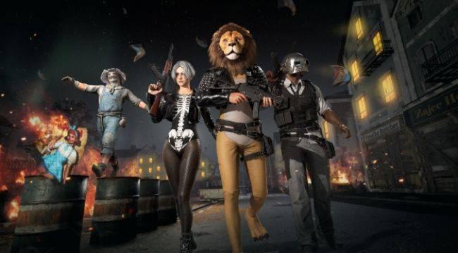PUBG lion skin removed after a bug gave it a penis