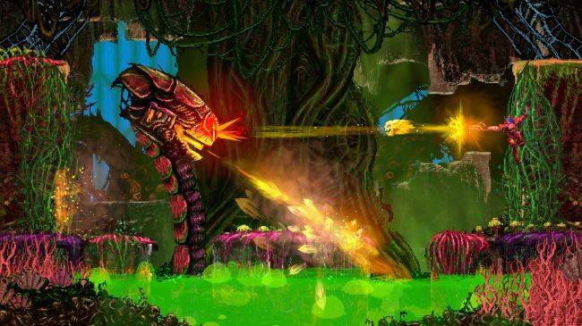 Heavy metal platformer Valfaris gets October release date