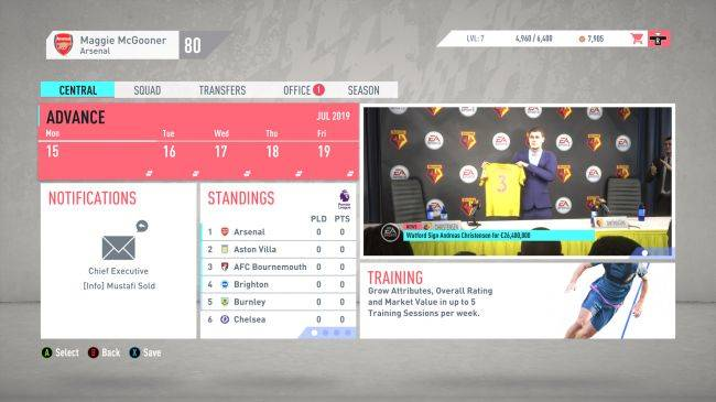 EA aware of major FIFA 20 career mode bugs, but fixes won't arrive in next patch