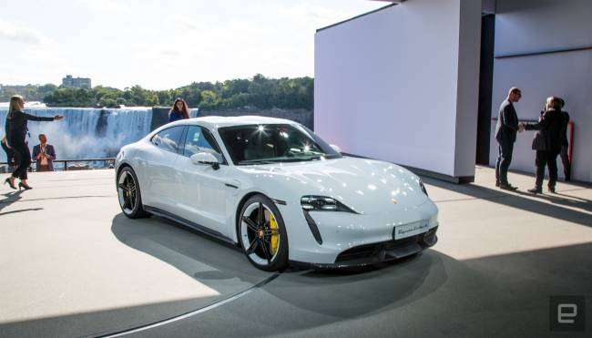The Morning After: Porsche unveils its first electric sports car