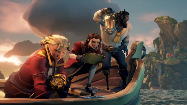 Sea Of Thieves is offering a free Ori-themed ship set this weekend