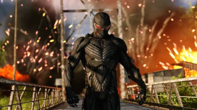 Crysis Remastered is out today, so you can indeed run it, probably
