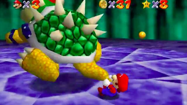 Internet pours one out for Super Mario 64's 'Gay Bowser,' who is dead now