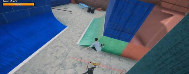 Someone remade Call of Duty's 'Shipment' map in Tony Hawk's Pro Skater 1+2