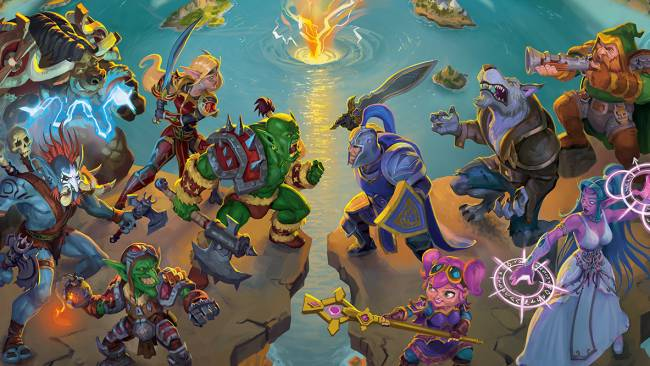Small World of Warcraft is a Blizzard-y take on a beloved board game