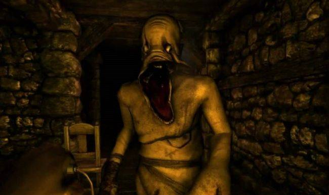 Amnesia: The Dark Descent almost featured guns and Jesus