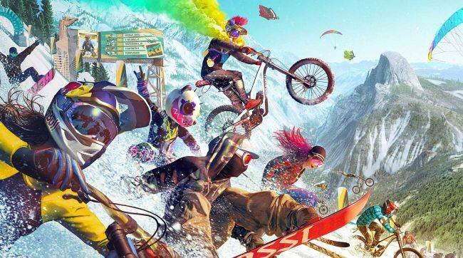 50-player extreme sports MMO Riders Republic coming in February