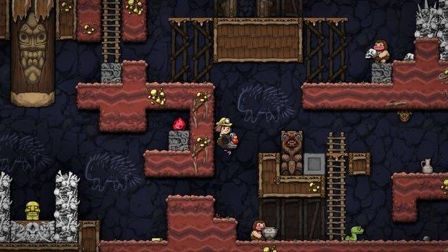 Watch a Spelunky 2 speedrunner crush the game in under 4 minutes