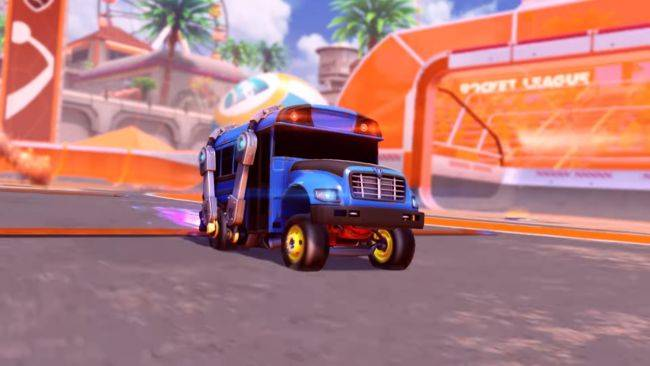 Rocket League and Fortnite collide in crossover events starting this weekend