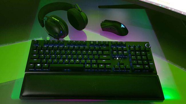 The Razer BlackWidow V3 Pro is its first wireless gaming keyboard. Anyone else surprised by that?