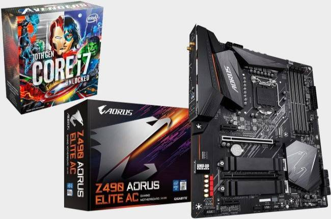 Save $125 on this 8-core Comet Lake CPU and Z490 motherboard combo