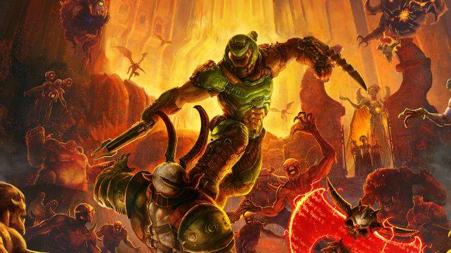 Microsoft teases Doom Eternal coming to Xbox Game Pass with a double-hidden message