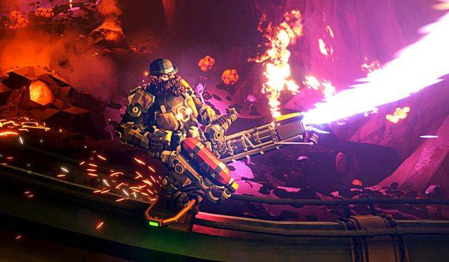 Deep Rock Galactic gets its first major post-launch update in October