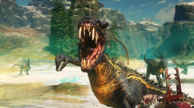 Watch mutant dinosaurs get blown up real good in this Second Extinction gameplay video