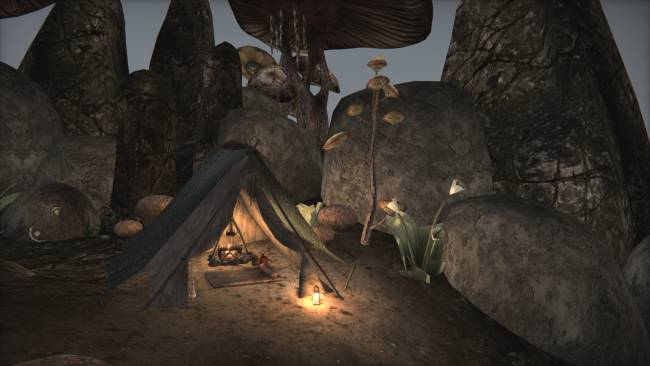 Ashfall is an extensive camping and survival mod for Morrowind
