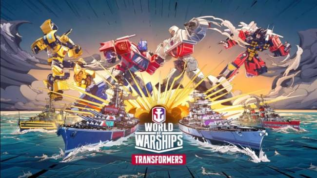 World of Warships Meets Transformers in Latest Update