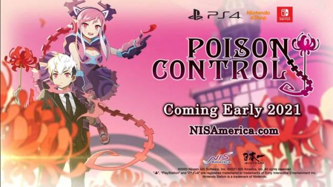 Poison Control is Coming to PS4 and Switch in 2021