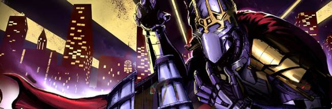 Champions Online's third anniversary week sees Dr. Destroyer and his Destroids attack the city