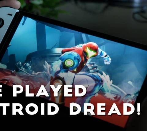 Unfinished: We Touched Metroid Dread & The OLED Switch!